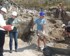 Diákmunka lehetőség a csókakői ásatáson