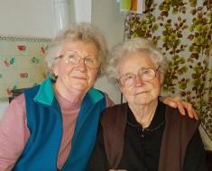 Lebocz Sándorné február 18-án ünnepelte 90. születésnapját.