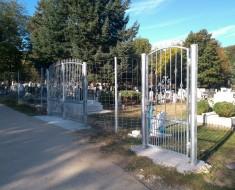 Elkészült a temető kerítés és a kapuk