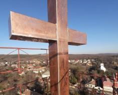 Képek a templomtoronyból...
