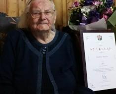 Annus néni csütörtökön ünnepelte 100. születésnapját