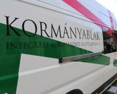 Szeptember 13.-án újra kormányablakbusz Csákberényben